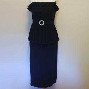 Vintage Diane von Furstenberg Peplum Dress